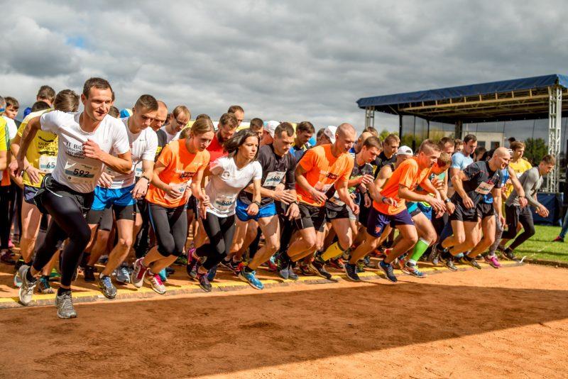 Atsinaujinęs K. Baršausko vardo bėgimas trasą siūlys užbaigti linksmaisiais pripučiamais kalneliais