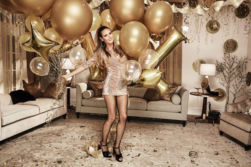"#LETSCELEBRATE: antroji Heidi Klum ir ""Lidl"" kolekcija – skirta šventėms"