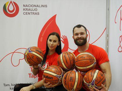 """Krepšinio klubo """"Rytas"""" komanda apie sportą ir kraujo donorystę – ar tai suderinama?"""