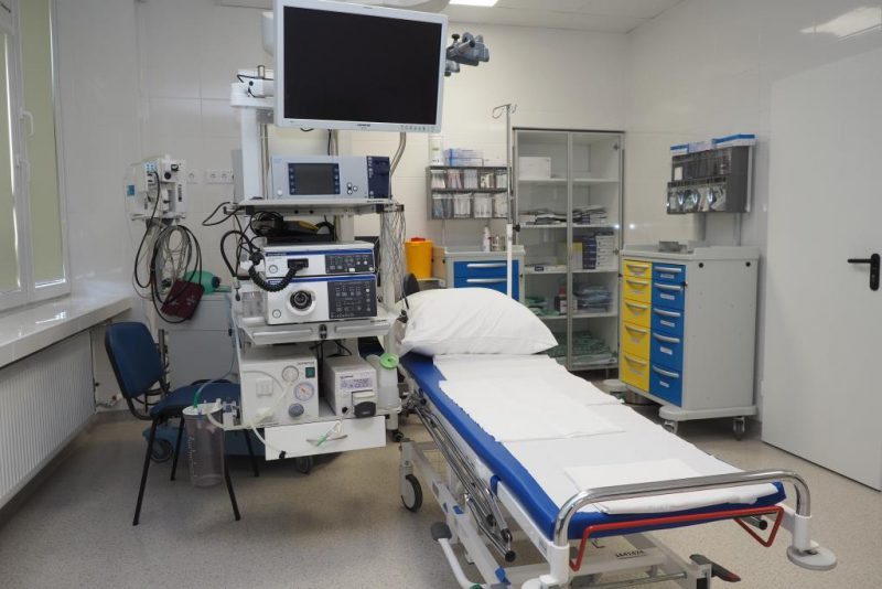Atnaujintame Endoskopinių tyrimų poskyryje – išskirtinis dėmesys pacientui