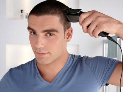 Plaukų kirpimas sau pačiam