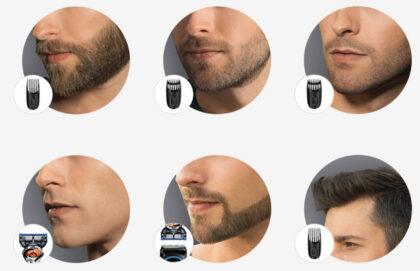 Barzdos plaukų formavimas namuose